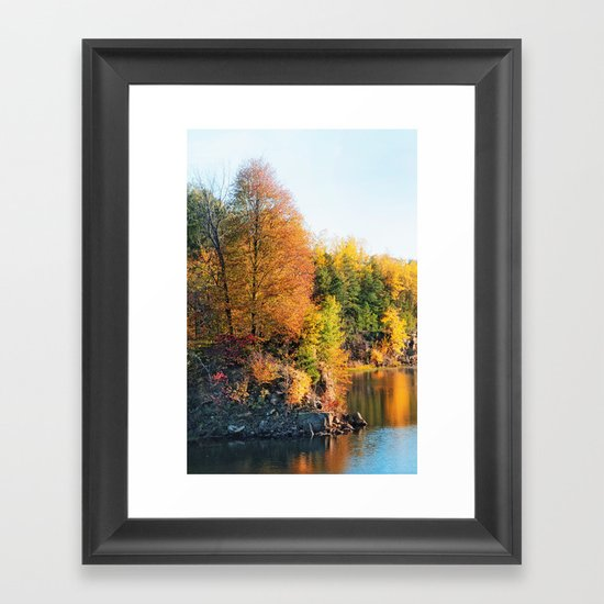 Changing Color Framed Art Print