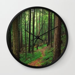 Forest 4 Wall Clock
