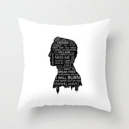 Jim Moriarty  - Sherlock Throw Pillow