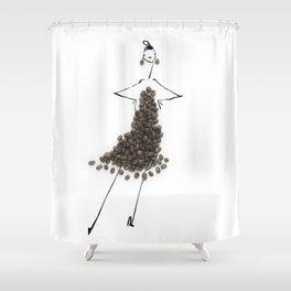 Edible Ensembles: Coffee Shower Curtain