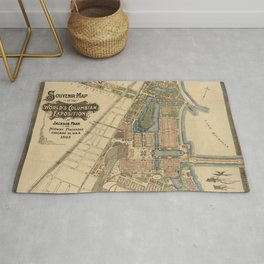 Chicago World Exposition 1893 Rug