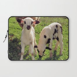 Ewe and Twin Spring Lambs Laptop Sleeve
