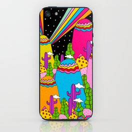 Night Sky Rainbows iPhone Skin