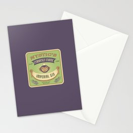 Mystic's Curiously Exotic Imperial Gin Stationery Cards