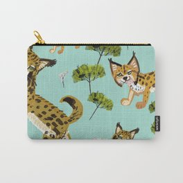 Totem Iberian Lynx Carry-All Pouch