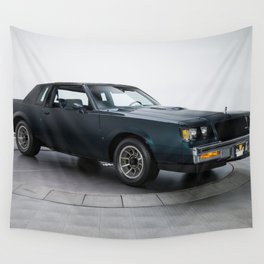 1987 Blue Grand National Regal Turbo T-Type Wall Tapestry