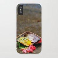 hindu iPhone & iPod Cases featuring Bali - Hindu Prayer Offering by gdesai