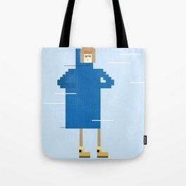 Snow Guy Tote Bag