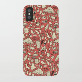 Filthy Lunch Dance Party iPhone Case