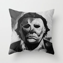 Michael Myers Throw Pillow