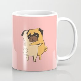 Pug Hugs Coffee Mug