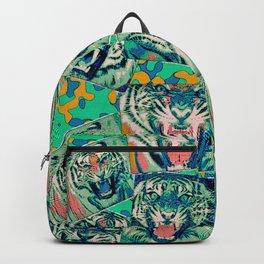 Comic Book Tigers Backpack