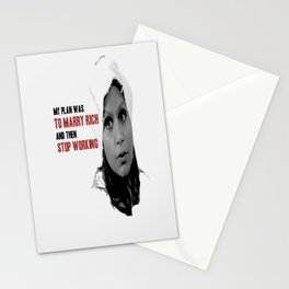Mindy Lahiri - My Plan Was To Marry Rich Stationery Cards