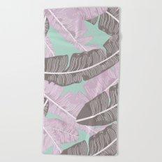 BANANA LEAVES 3 Beach Towel