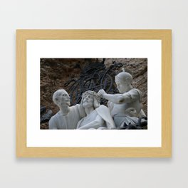 Our Father Framed Art Print