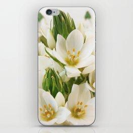 White Blossom iPhone Skin