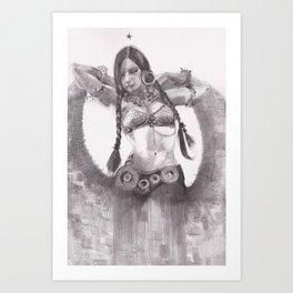 danza2 by nicolas Perruche Art Print