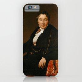 Jean-Auguste-Dominique Ingres - Jacques-Louis Leblanc (1774–1846) iPhone Case