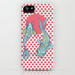 Koikoi, Carp, Japanese style iPhone Case