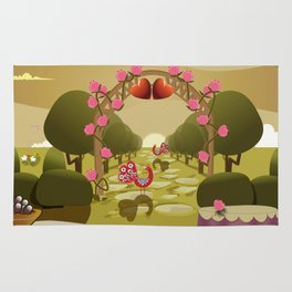 Garden of Eden - Love Rug
