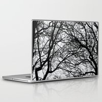 anxiety Laptop & iPad Skins featuring Anxiety by Mind-off