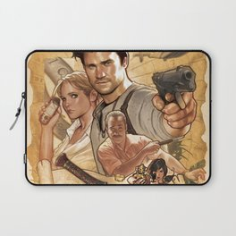 Uncharted Poster Laptop Sleeve