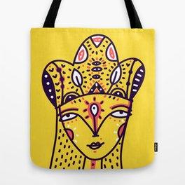 Mustard Queen Tote Bag