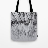 study Tote Bags featuring study  by monicamarcov