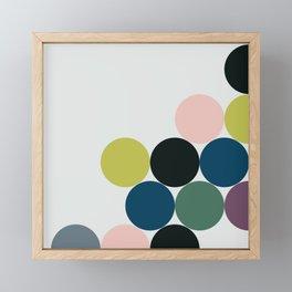 cluster || chill Framed Mini Art Print
