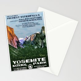 affiches Yosemite Stationery Cards