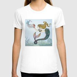 Jellyfish and Mermaid T-shirt