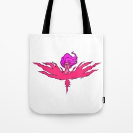Power (Magenta) Tote Bag