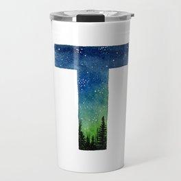 Galaxy Alphabet Series: T Travel Mug