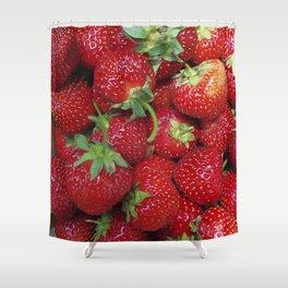 Strawberry Season Shower Curtain