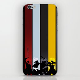 Silhouetted Huntresses iPhone Skin