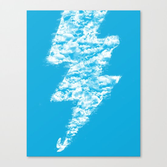 Lightning Peace Canvas Print