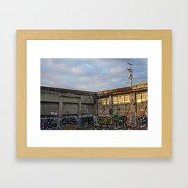 Veil Framed Art Print