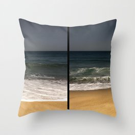 Breathing In Breathing Out Throw Pillow