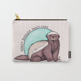 Honey Badger Don't Care Carry-All Pouch