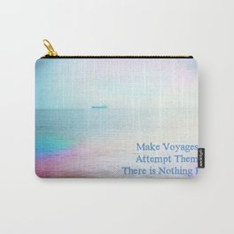 Make Voyages Carry-All Pouch