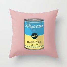 Nausicaa - Miyazaki - Special Soup Series  Throw Pillow