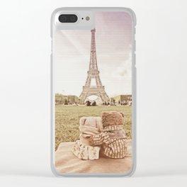 Paris je t'aime Clear iPhone Case