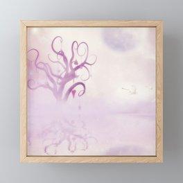 Fantasy tree Framed Mini Art Print