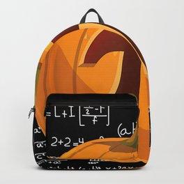 Pumpkin Pie Math Shirt Funny Halloween Backpack