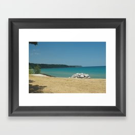 On the Bay Framed Art Print