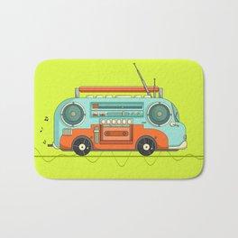 The Music Bus Bath Mat