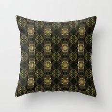 Pattern Print Edition 1 No. 2 Throw Pillow
