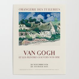 Vincent van Gogh - Exhibition poster Poster