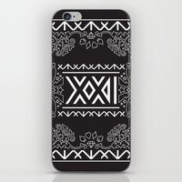 2ne1 iPhone & iPod Skins featuring 2NE1 - Roman Numeral Motif by Betwixt