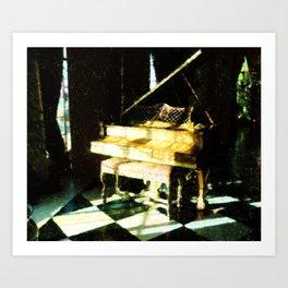 The Grand Piano Art Print